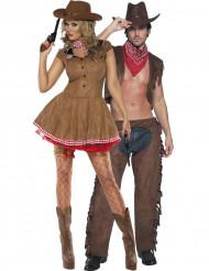 Sexy Cowboy Paarkostüm für Erwachsene