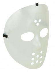 Nachtleuchtende Hockey-Maske Halloween