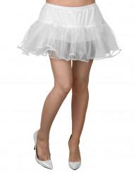 Weißer Unterrock aus Tüll für Damen