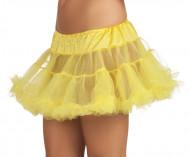Unterrock gelb für Damen
