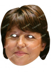 Martine Aubry - Maske
