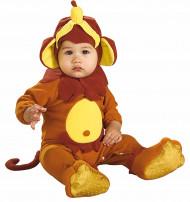 Witziges Affenkostüm für Babys mit Bananenmütze