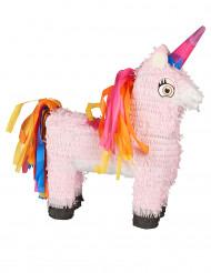 Einhorn-Piñata bunt 35x35cm