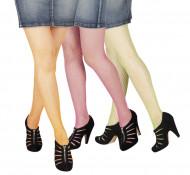 Netzstrumpfhose farbig für Erwachsene