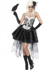 Makabres Skelett-Kostüm für Damen