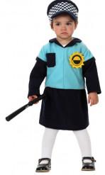 Polizisten Kostüm für Babys
