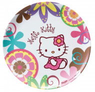 Melamin-Teller Hello Kitty Bambus™