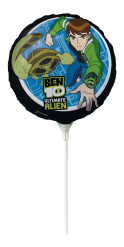 Runder Luftballon aus Alu Ben Ten™