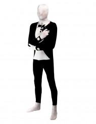 Schwarzes Kostüm Zweite Haut für Erwachsene