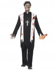 Priester - Zombie Kostüm für Herren