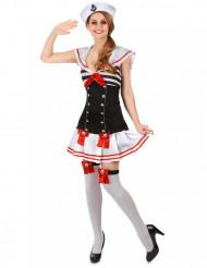 Sexy Matrosen - Kostüm für Damen