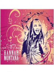 20 Papierservietten Hannah Montana™