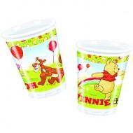 10 Plastikbecher Winnie the Pooh™