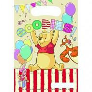 6 Party-Tüten Winnie the Pooh Alphabet™