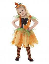 Kürbis Feen-Kostüm Halloween für Kinder