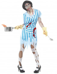 Zombie Service Kostüm fürFrauen