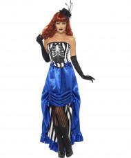 Halloween Frauen-Kostüm Cabaret für Erwachsene
