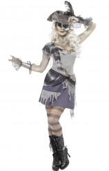 Halloween Kostüm Geisterpirat für Erwachsene