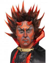 Dämonen-Perücke Halloween Erwachsene