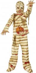 Mumien-Kostüm Kinder Halloween