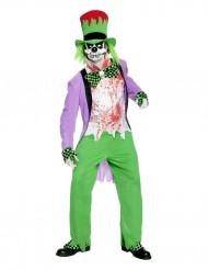 Teuflischer Clown-Kostüm Erwachsene Halloween