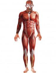 Halloween Kostüm Menschliche Anatomie für Erwachsene