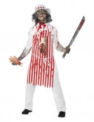 Zombie Fleischerkostüm Erwachsene Halloween