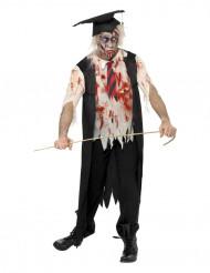 Zombiekostüm junger Dipolomierter Erwachsene Halloween