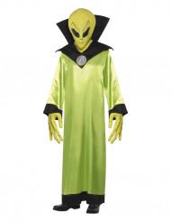 Halloween Kostüm Alien für Erwachsene