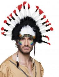 Indianerhäuptling-Kopfschmuck für Erwachsene bunt