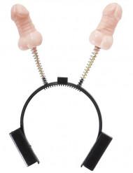 lustiger Zipfelchen Haarreifen für Erwachsene