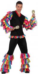 Rumba Tänzer-Kostüm für Herren