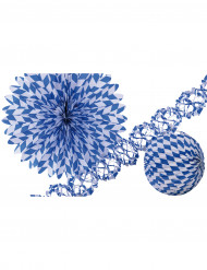 Dekoration Blau Weiss Bayern