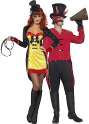Kostüm für Zirkusdirektorenpaar Halloween