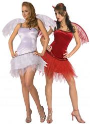 Kostüm Paar Engel und Teufelin
