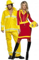 Feuerwehrpaar-Kostüm