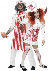 Zombie Fleischerpaar Halloween