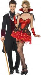 Halloween-Kostüm Vampirpaar