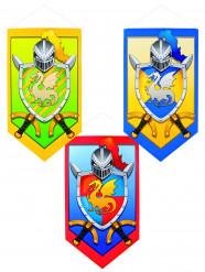 Mittelalterliche Ritter-Deko