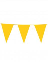 Gelbe Wimpelgirlande