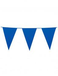 Blaue Wimpelgirlande