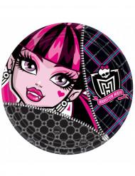 Set mit 8 Tellern Monster High™ für Halloween