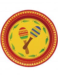 Mexikanische Teller
