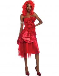Rihanna™ Kostüm in rot für Frauen