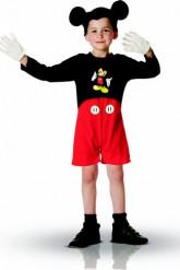 Disney Mickey™-Lizenzkostüm für Kinder schwarz-rot