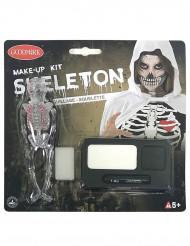 Halloween Skelett-Schminkset für Erwachsene