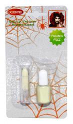 Nachtleuchtender Halloween Nagellack und Lippenstift für Erwachsene