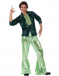Grünes Disco-Kostüm für Herren