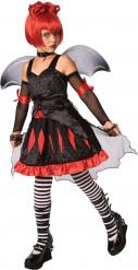Fledermaus Prinzessin-Kostüm für Mädchen