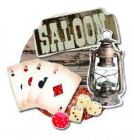 Western Saloon Wanddeko